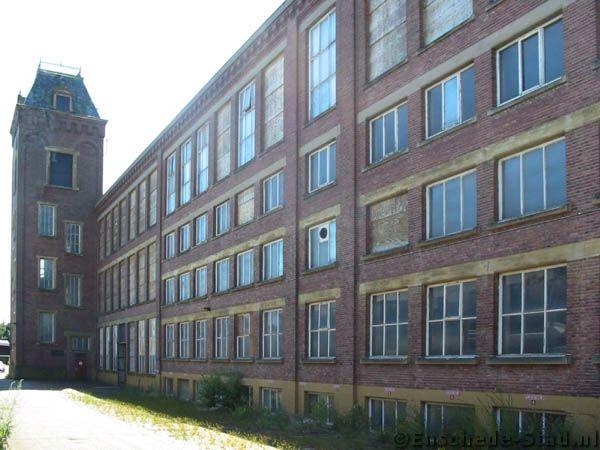 Oude textielfabriek Het Oosterveld van de Fam. van Heek