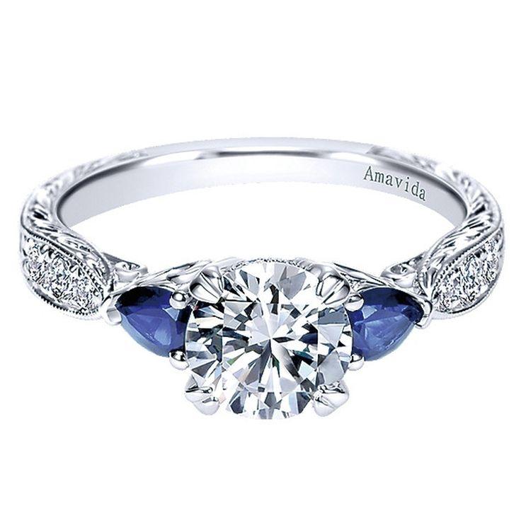 Modern Bezel Set Engagement Rings