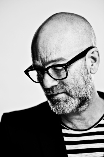Michael Stipe ~ REM, Gray Haired with Beard.