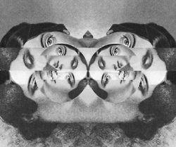 Lua, feminino, portrait, faces