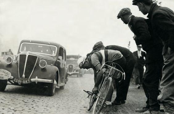 Tour de France 1937. René Le Greves (1910-1946)