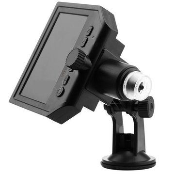 Mustool® G600 Digital Portable 1-600X 3.6MP Microscope Continuous Magnifier with 4.3inch HD LCD Display Sale - Banggood.com