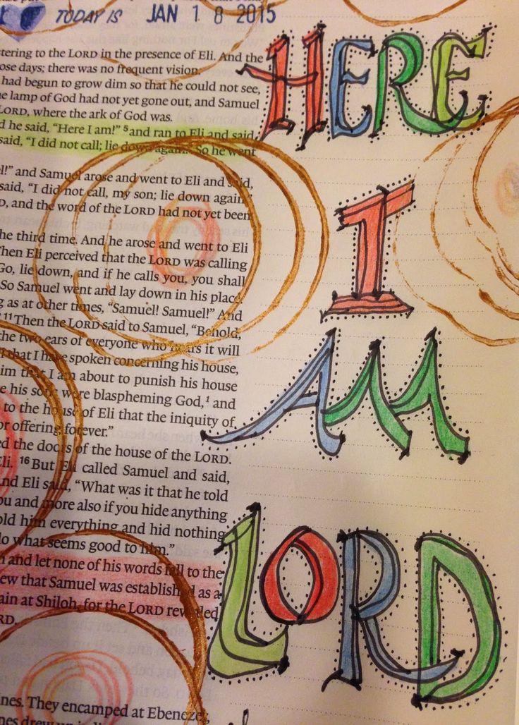Vintage Grace: Bible Marginalia, Bible Journaling