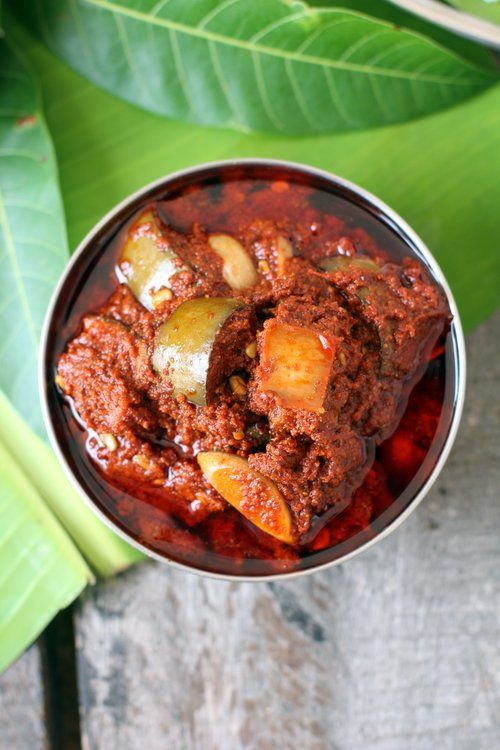 Mango pickle recipe, avakai, is a traditional Andhra pickle made with raw mango. Every Telugu home takes pride in making avakaya. How to make mango pickle.