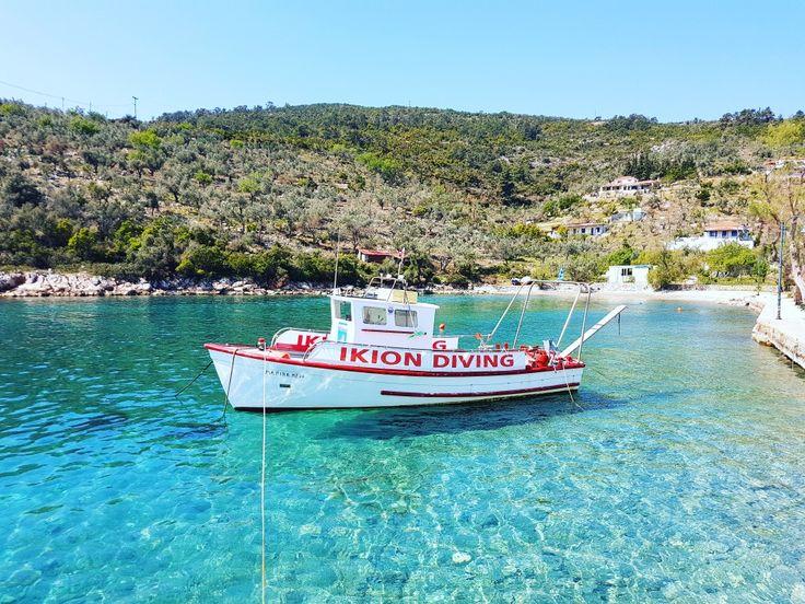 Steni Vala port...🌊🚣 🌍 www.angelosalonissos.com #angelos_apartments #alonissos #sporades #greece #summer2017 #port #sea