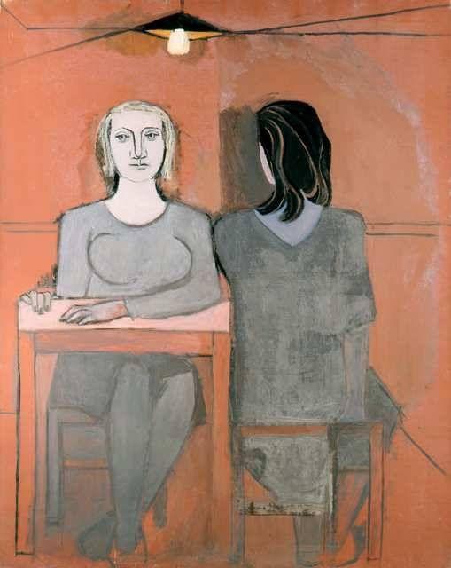Dora Maar (November 22, 1907 – July 16, 1997) - La Conversation, 1937. #Maar was lover of #Picasso