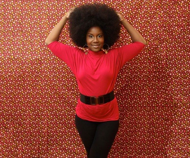 Afro-textured hair defies gravity by growing up and not down