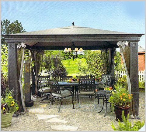 Superb Tiverton Gazebo Replacement Canopy / High Grade