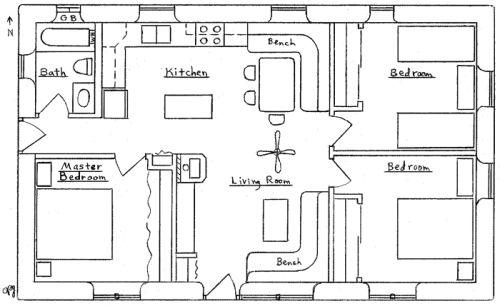 Sandbag building plans turtle mountain mold free for Earthbag house plans free