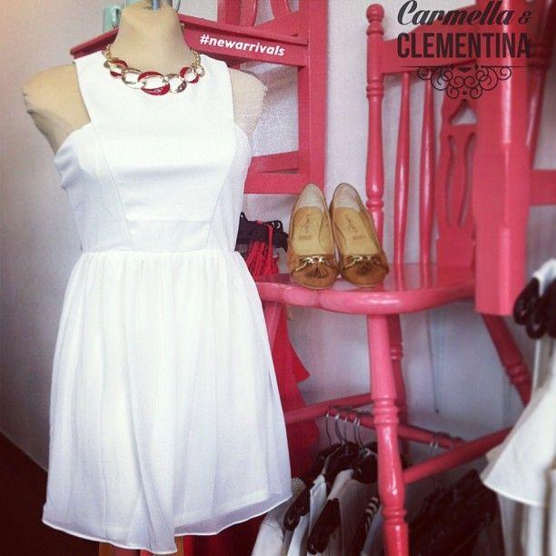 #Carmella te invita a usar el blanco, #esmitonoengorda