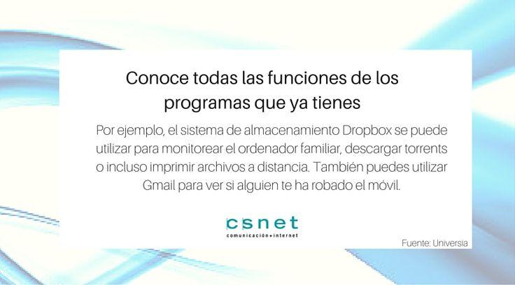 #Consejo #CSnet #Informática #PC #Software