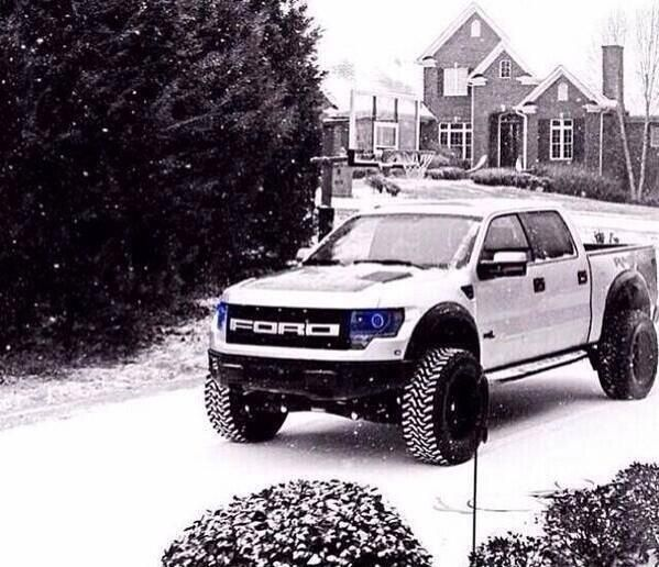 Ford Raptor....I love this pick up, might be a lil too masculine for me =)