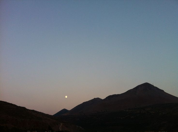 """Mountains of the moon"", Mani, Peloponnese peninsula"