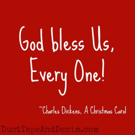 """Can you guess which Christmas movies these quotes came from?  Find a list of my favorites at DuctTapeAndDenim.com 