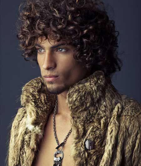 men haircut curly - Google zoeken