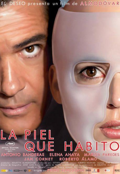 La piel que habito es una película dirigida por el director español Pedro Almodóvar cuyo rodaje finalizó en 20101 y estrenada el 2 de septiembre de 2011