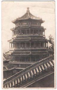 Chinese Pagoda Temple China Old Real Photo Postcard | eBay