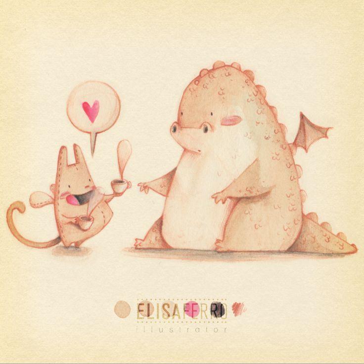 Elisa Ferro Illustration