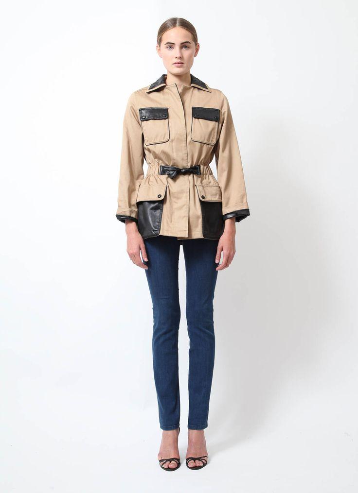 Balenciaga | Belted Safari Jacket | RESEE