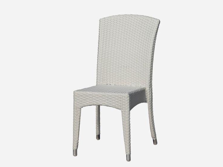 KASİLYA KOLSUZ SANDALYE #kolsuzsandalye #beyaz #sandalye #rattan #bahçemobilyaları #vitello #vitellogarden