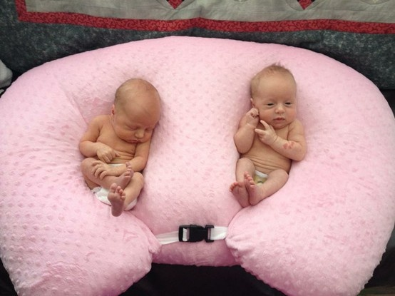 Perfect shower gift! The Twin Z Pillow is great for resting #babies, #breastfeeding, and bottle feeding! $99.99