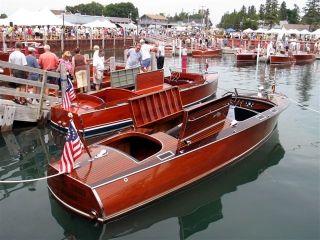 Les Cheneaux Islands Antique Wooden Boat Show