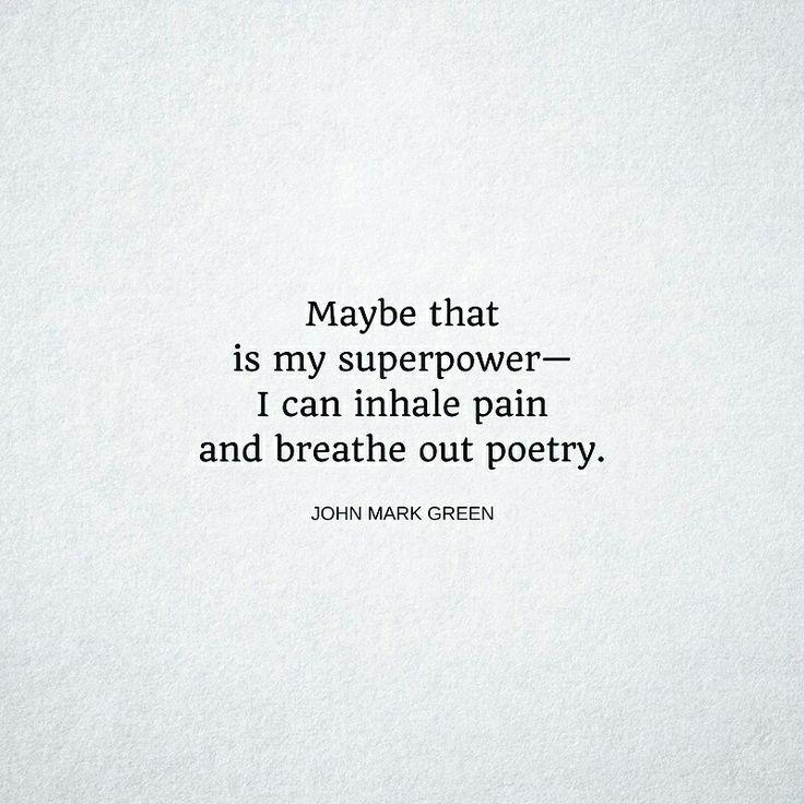 Writing a war poem by mark