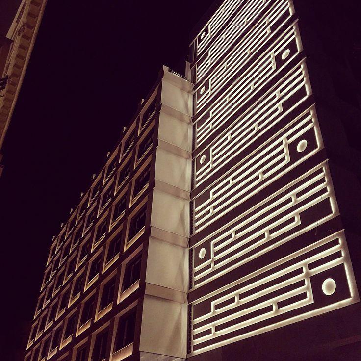 Night view! #RetroChic #ElectraMetropolis #ElectraHotels #hotel #hotels #Athens