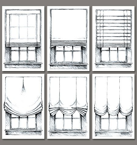 Window covering patterns and ideas