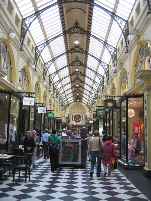 Royal Arcade been here and lived close. I always feel like I could be in a different place in the world its stunning. Anyone for coffee and macaroons yep me!