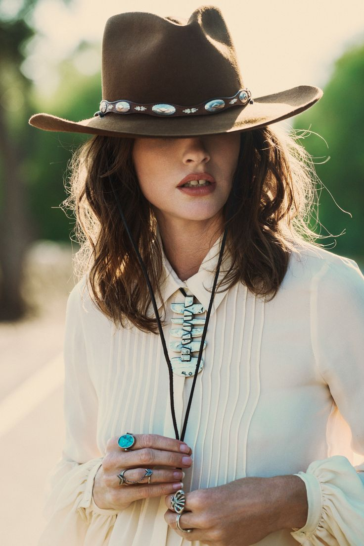 A girl can never have enough hats! I'm SO drawn to this STATEMENT. And, as a lover of gemstones, isn't this turquoise gorgeous? TORCHLIGHT