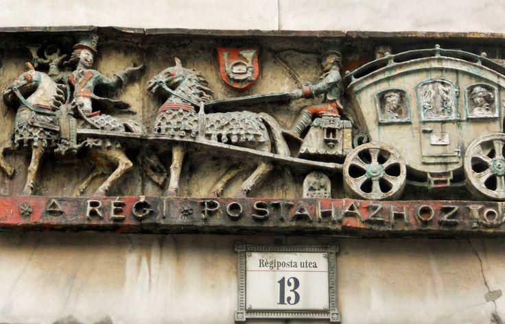 Budapest, Régiposta utca