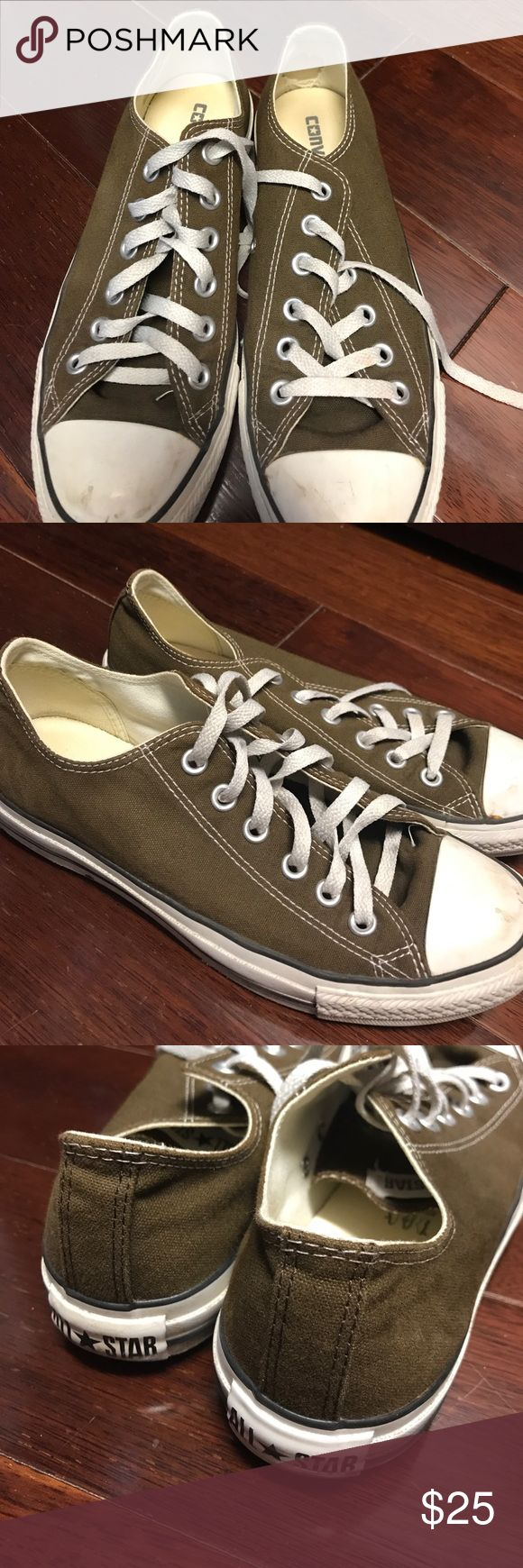 Brown Converse! Great Condition! Brown Converse! Great Condition! Converse Shoes Sneakers