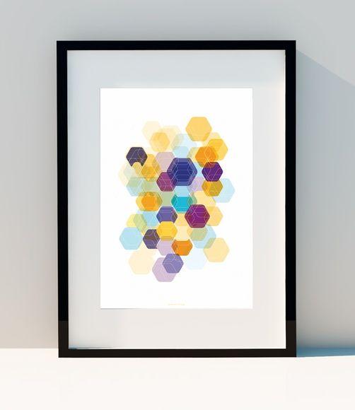 die besten 25+ hexagon game ideen auf pinterest ... - Deko Ideen Hexagon Wabenmuster Modern