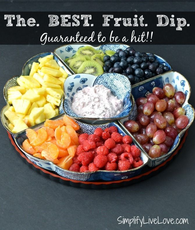 is it healthy to eat only fruit fruit dip recipes