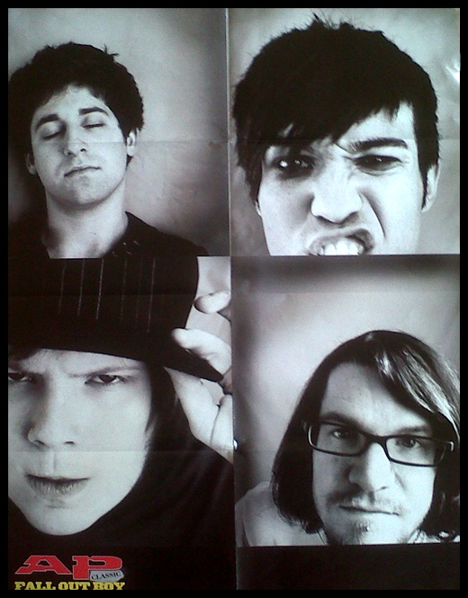 Fall Out Boy Alternative Press Magazine Poster