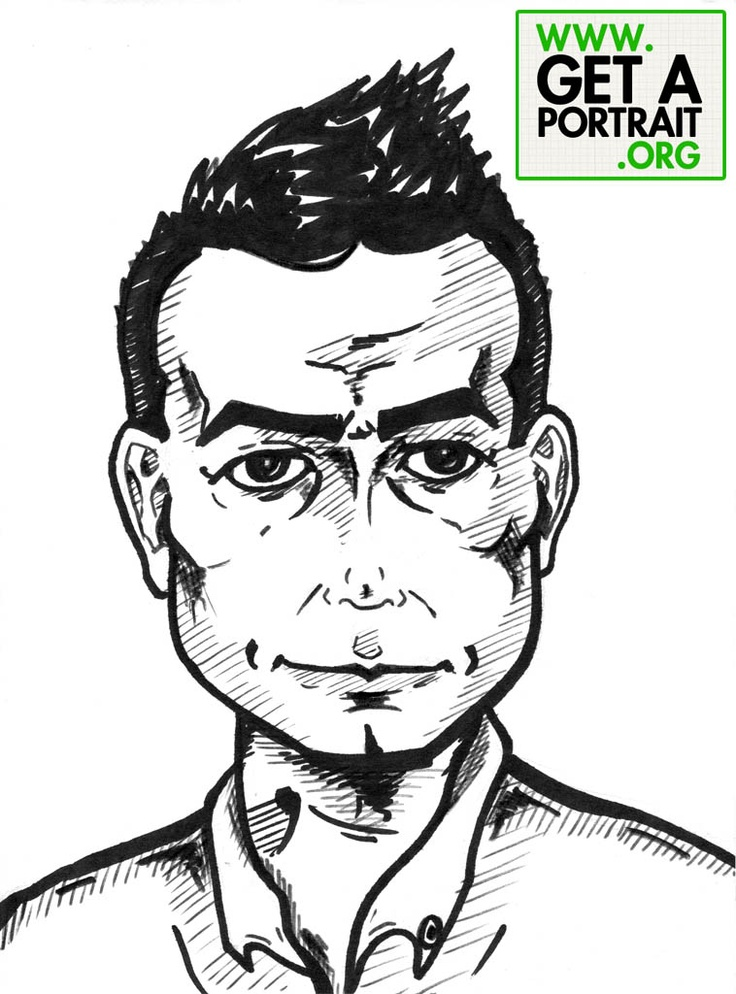 Portrait of James Blute — Get a high quality PORTRAIT or CARICATURE from a pro, for an unbeatable price! GetAPortrait.org