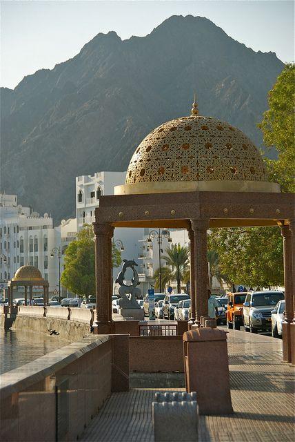Corniche and Mountain - Muscat, Oman