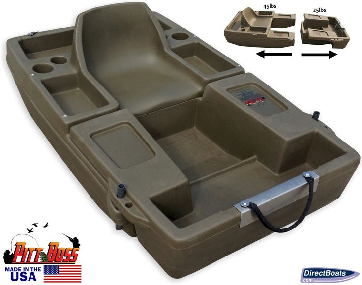 Check Out The Pitt Boss DLX Mini Bass Boat Troll Row Or Use Flippers With