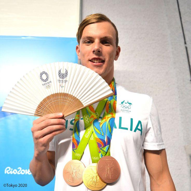 Kyle Chalmers選手(競泳・オーストラリア) #RiotoTokyo #Tokyo2020