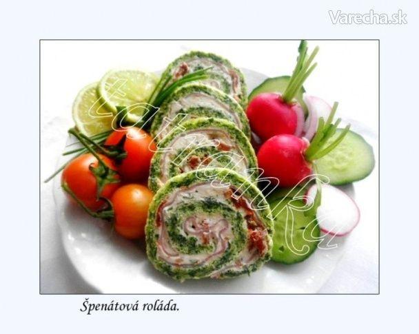 Špenátová roláda (fotorecept)