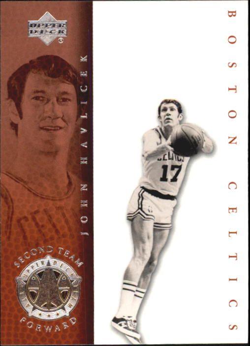 john havlicek trading cards | 2000 Upper Deck Century Legends #79 John Havlicek UDT - NM-MT