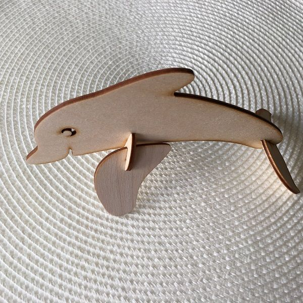 Dolfin Wooden Decorative