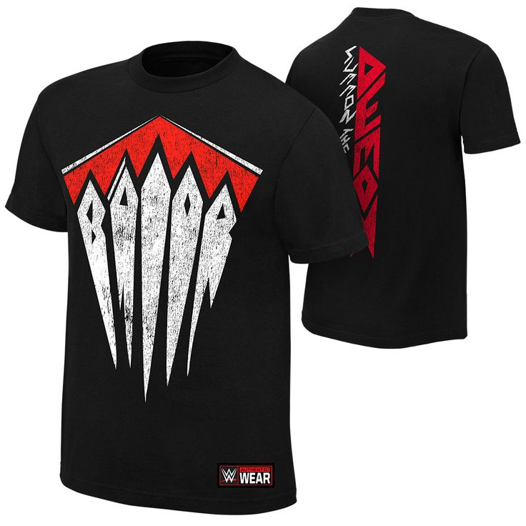 "Finn Bálor ""Demon Arrival"" Authentic T-Shirt - WWE Europe"