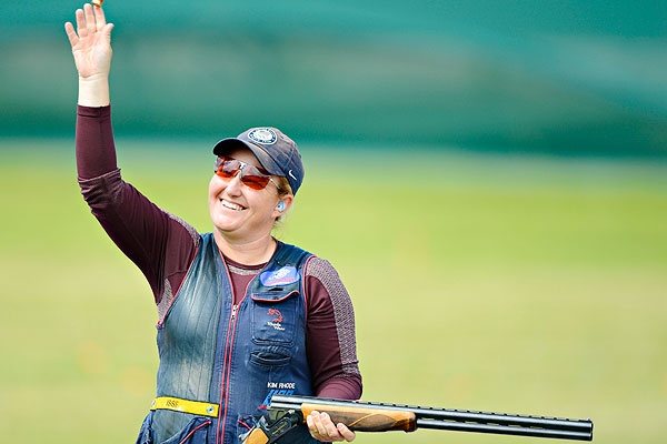 Records are set in the Olympics all the time, but the first American to win individual medals in five separate Olympic games is trap and skeet shooter Kim Rhode! Kim, who dominated the trap game for years switched over to skeet a while back and after her London win yesterday with a 99x100 score, eight targets better than her nearest competitor. Way to go Kim Rhode!  We know guns so you know guns!