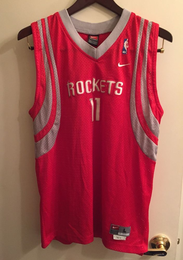 sale retailer 8edd3 6f48c ☀YOUTH☀NBA Basketball Houston Rockets Yao Ming Jerse ...