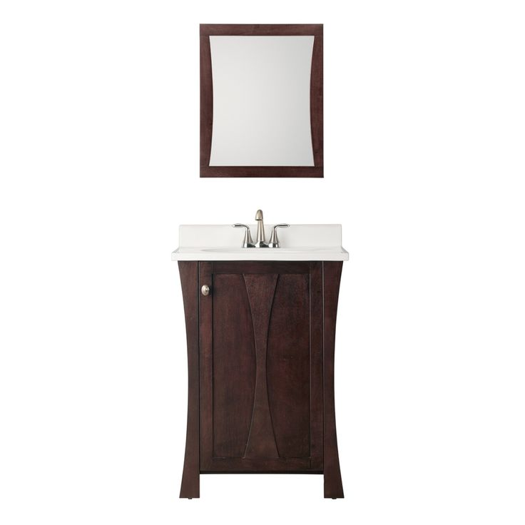 Picture Gallery For Website Shop Style Selections in Auburn Single Sink Bathroom Vanity with