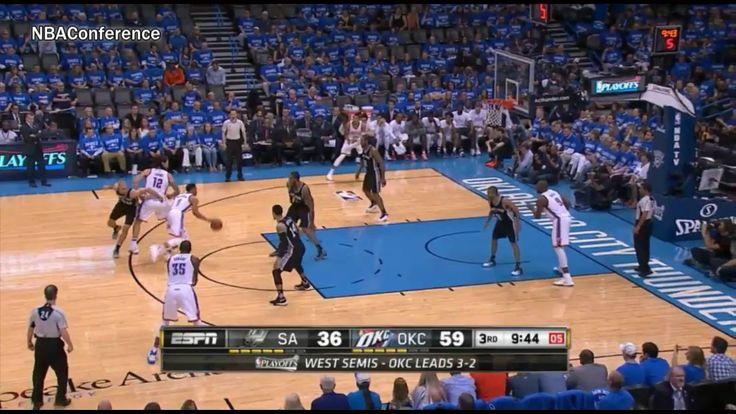 San Antonio Spurs vs OKC Thunder – Game 6 – Full Highlights – May 12, 2016 – 2016 NBA
