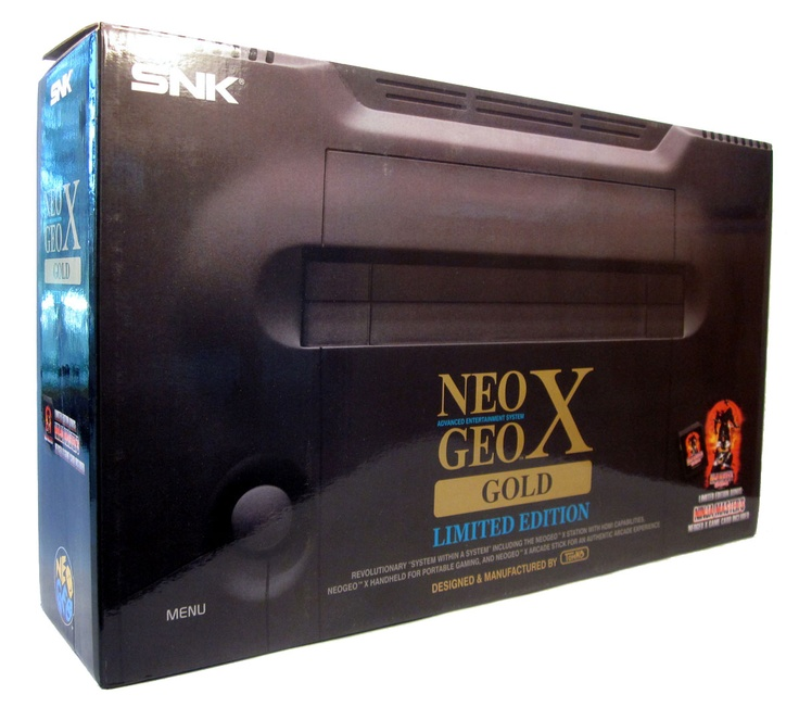 SNK Playmore NeoGeo X images: a retro release paying tribute to the original AES #NeoGeoX #snk