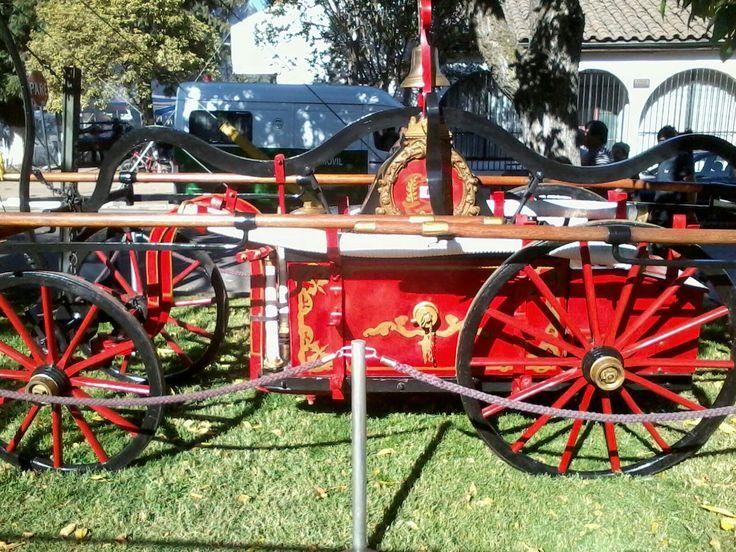 Carro de bomberos de la 1era Compañía de Bomberos de Rengo, Chile